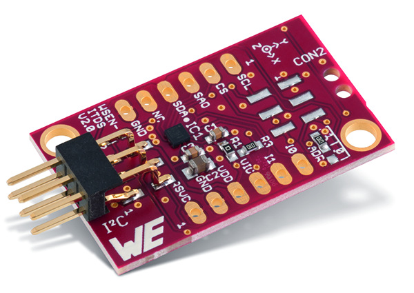 WSEN-EVAL Evaluation Board for 3 Axis Acceleration Sensor Picture