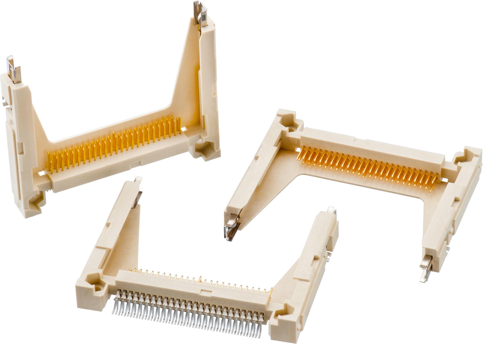 Compact Flash CF Card 50-Pin Connector Socket Header Top Mounting