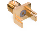 WR-SMA PCB End Launch Jack Flat Tab for 1.1 mm - WR-SMA PCB End Launch Jack Flat Tab for 1.1 mm