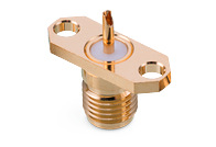 Panel Jack 2-Hole Flange Mount - Panel Jack 2-Hole Flange Mount