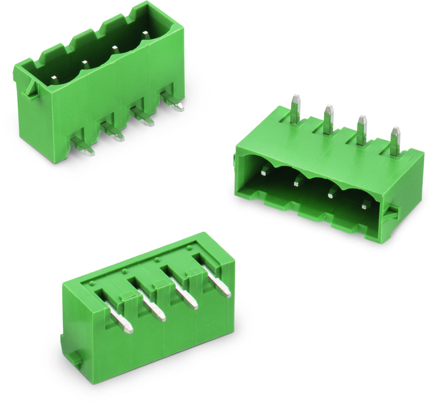 WR-TBL Serie 3055 - 5.08 mm - PCB Header Horizontal Entry with Plastic Latches Picture