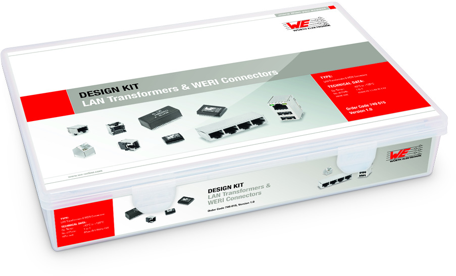 Design Kit WE-LAN & WERI Connectors Picture