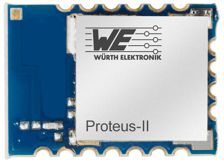 Proteus-II - Bluetooth® Smart 5.0 Module (AMB2623) Picture