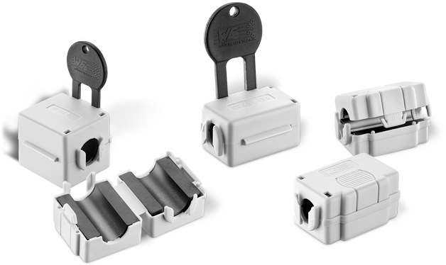 WE-STAR-FIX LFS Snap Ferrite for suppression in the low frequency range Picture