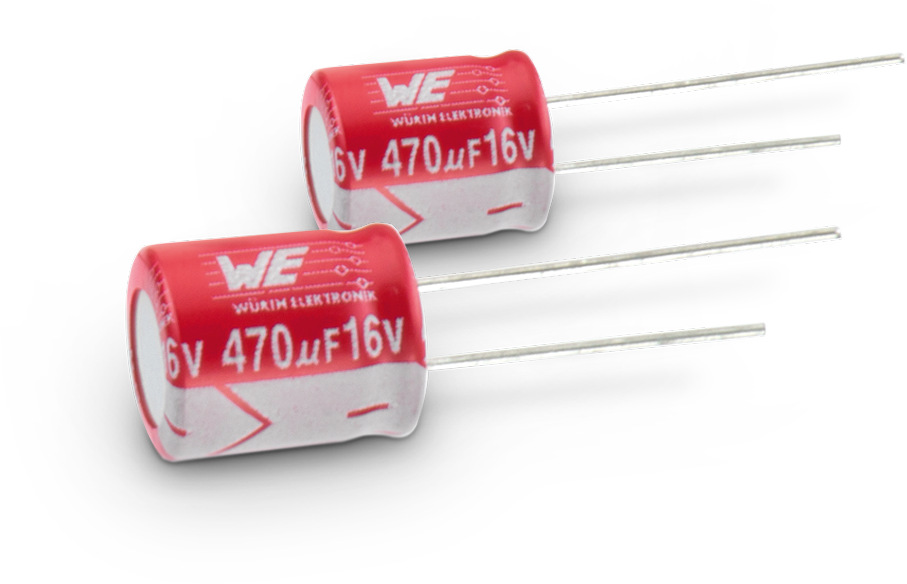 WCAP-PTHT Aluminum Polymer Capacitors Picture