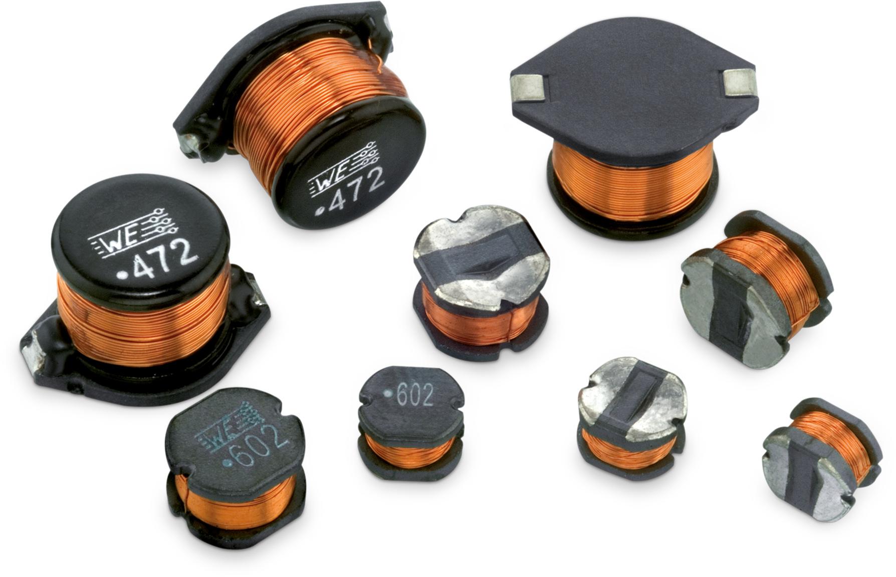 WE-ASI SMD Wire Wound Inductor Picture