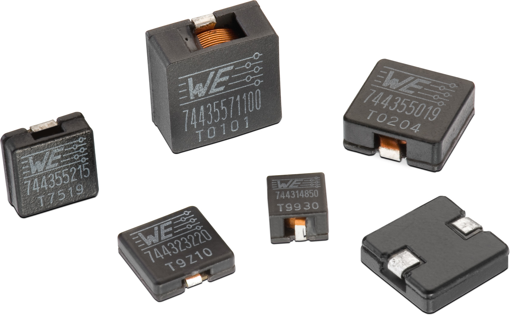 WE-HCI SMD Flat Wire High Current Inductor Picture