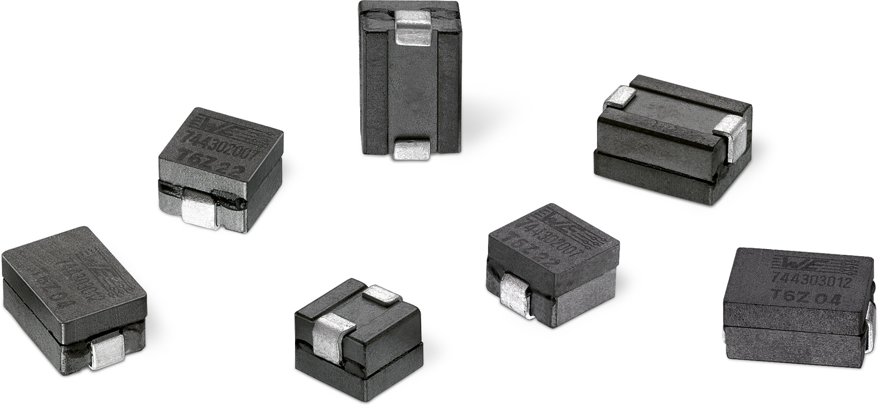 WE-HCM SMD High Current Flat Wire Inductor Picture