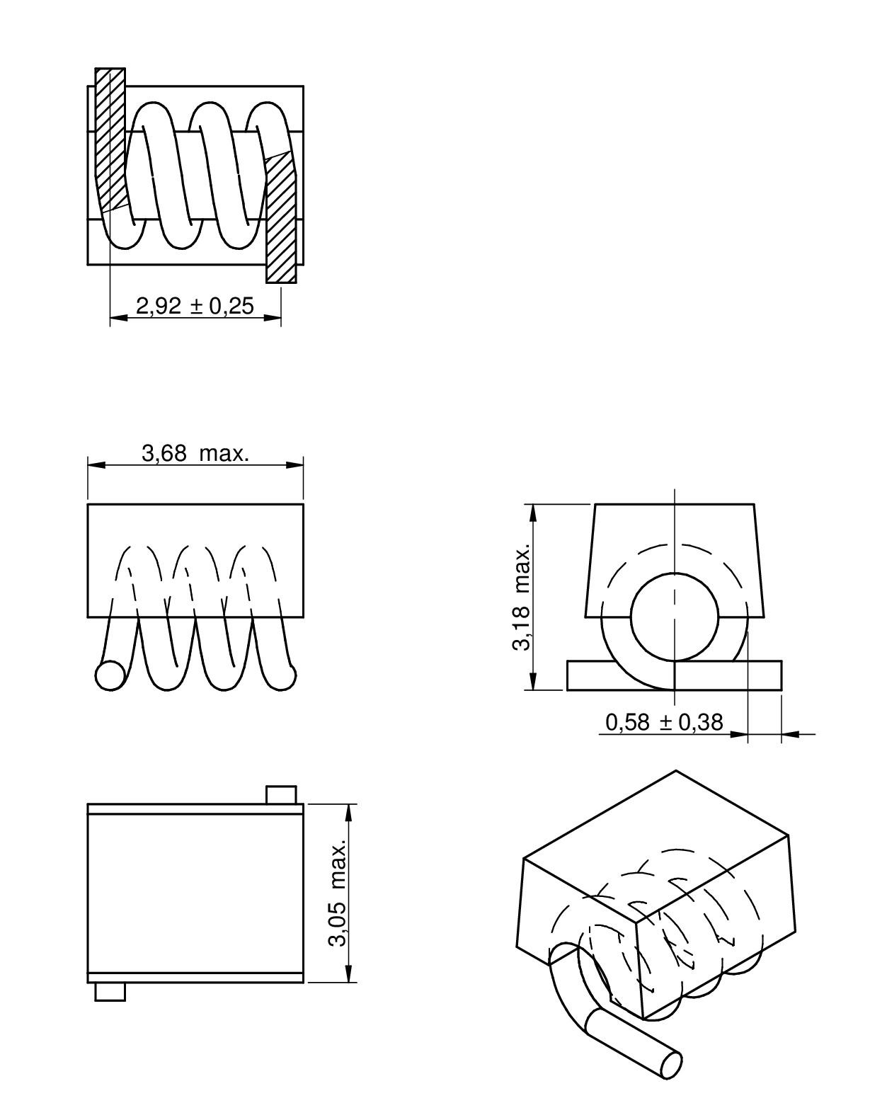 WE-CAIR Air coil   Passive Components   Würth Elektronik Standard Parts
