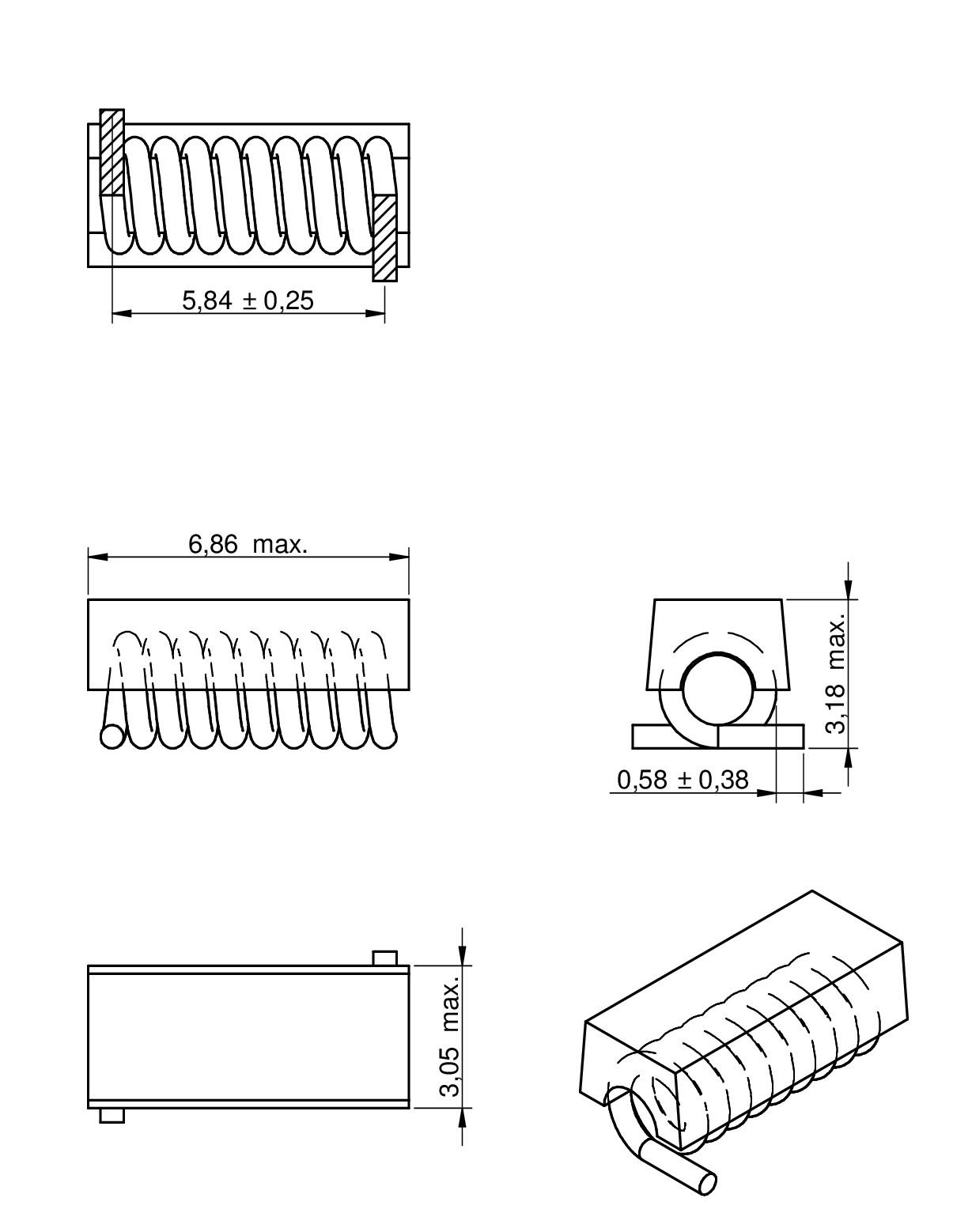 WE-CAIR Air coil | Passive Components | Würth Elektronik Standard Parts