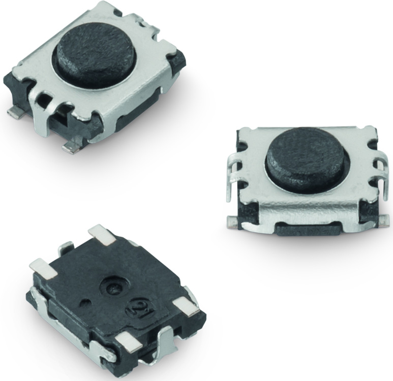 WS-TASV SMT Tact Switch 3.0 x 2.6 mm with ground terminal Picture