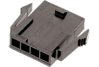WR-MPC3 Single Row Male Plug Housing - WR-MPC3 Single Row Male Plug Housing