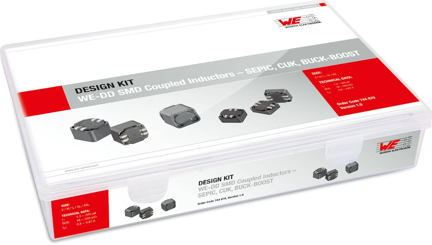 Design Kit SEPIC Applikationen WE-DD Produktbild