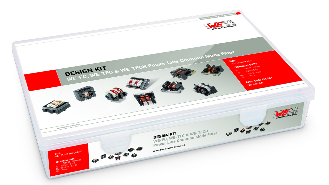 Design Kit WE-FC, WE-TFC & WE-TFCH Power Line Common Mode Filter Picture