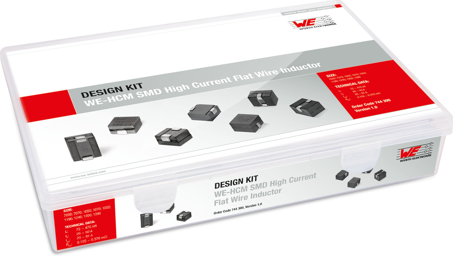 Design Kit WE-HCM SMD High Current Flat Wire Inductor Picture