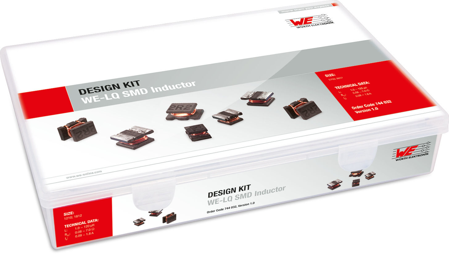 Design Kit WE-LQ SMD Inductors Picture