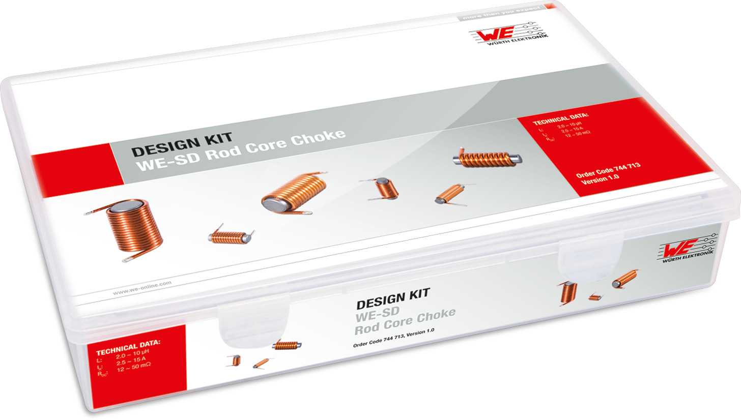 Design Kit WE-SD Rod Core Inductors Picture