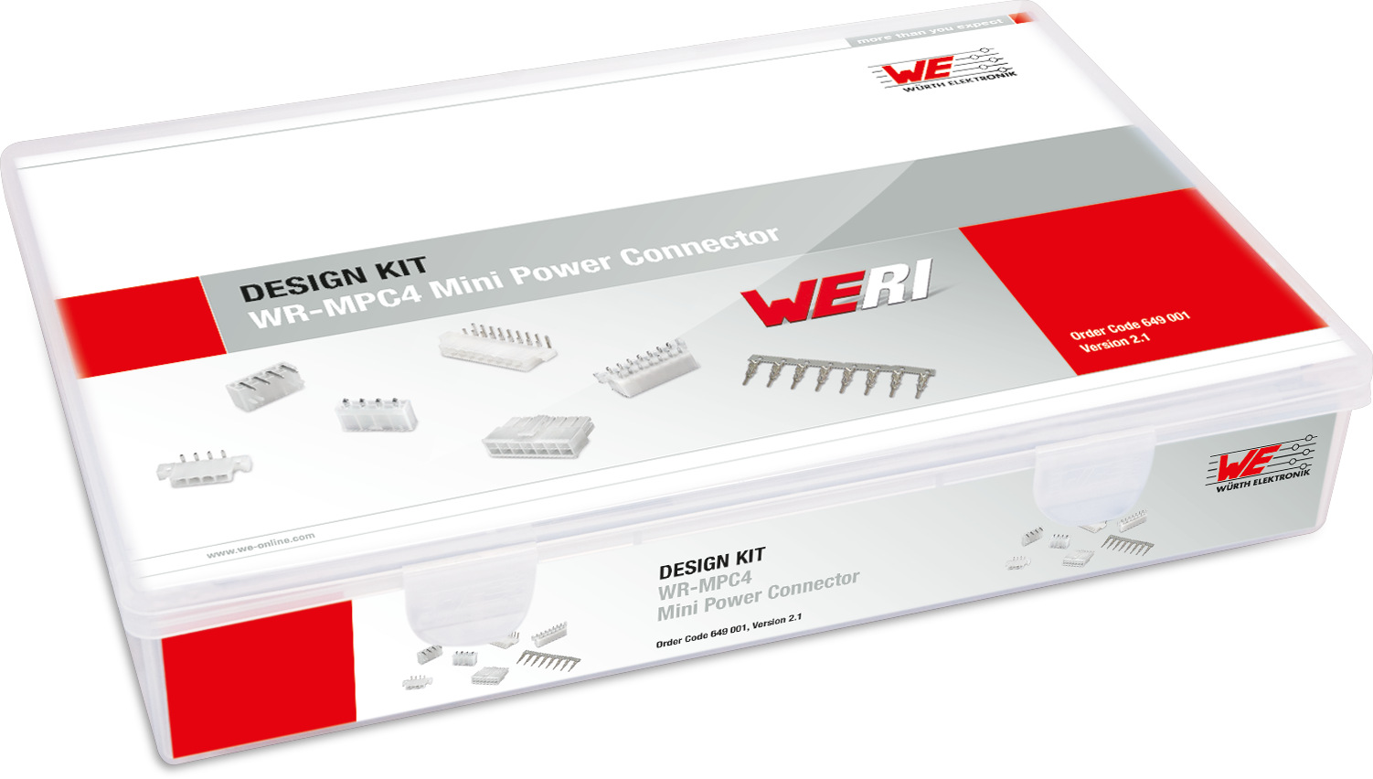 Design Kit WR-MPC4 Mini Power Connectors Picture
