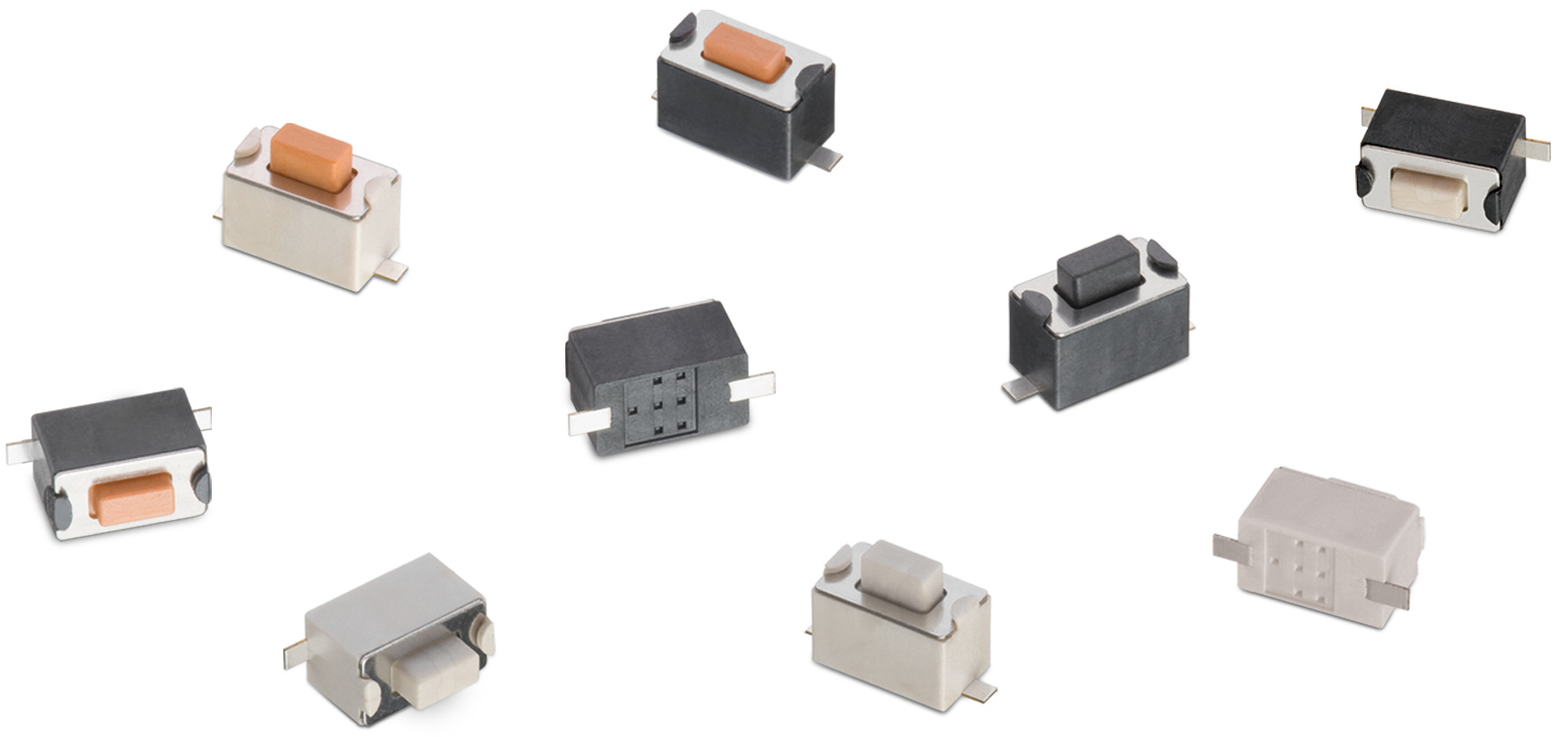 WS-TASV SMT Tact Switch 6.0x3.5 mm Picture