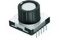 WS-RPTL Illuminated THT Rotary Push Button Switch 20x20 mm - WS-RPTL Illuminated THT Rotary Push Button Switch 20x20 mm