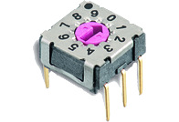 WS-ROTV THT Rotary Switch with Arrow Type Actuator 7x7 mm - WS-ROTV THT Rotary Switch with Arrow Type Actuator 7x7 mm