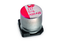 WCAP-AS5H Aluminium Electrolytic Capacitors - WCAP-AS5H Aluminium Electrolytic Capacitors