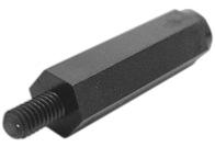 WA-SPAIE Plastic Spacer Stud, metric, internal/ external - WA-SPAIE Plastic Spacer Stud, metric, internal/ external