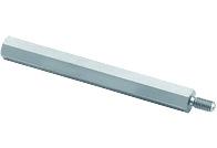WA-SBRIE Brass Spacer Stud, metric, internal/external - WA-SBRIE Brass Spacer Stud, metric, internal/external