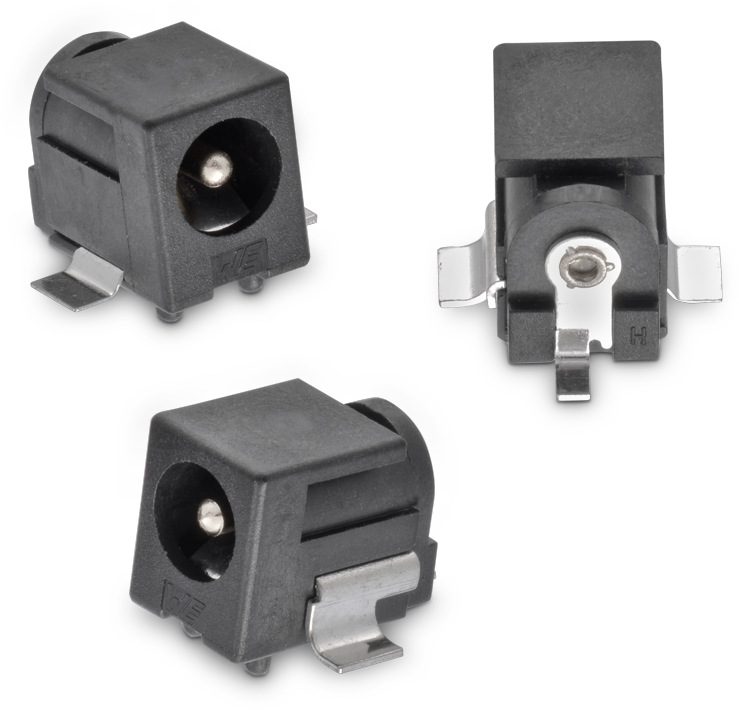 Wr Dc Dc Power Jack Right Angled Smt 216 6 4 With Pegs