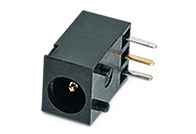 WR-DC DC Power Jack THT Right Angled Low Profile (3.8) - WR-DC DC Power Jack THT Right Angled Low Profile (3.8)