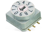 WS-ROSV SMD Rotary Switch with Arrow Type Actuator 10x10 mm - WS-ROSV SMD Rotary Switch with Arrow Type Actuator 10x10 mm