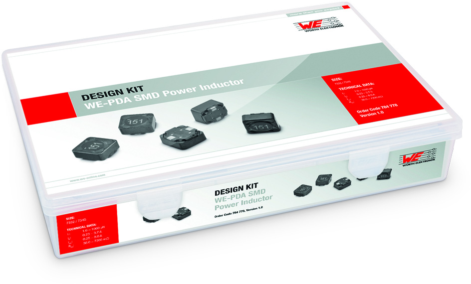 Design Kit WE-PD SMD-Speicherdrosseln - 6033/7332 Produktbild