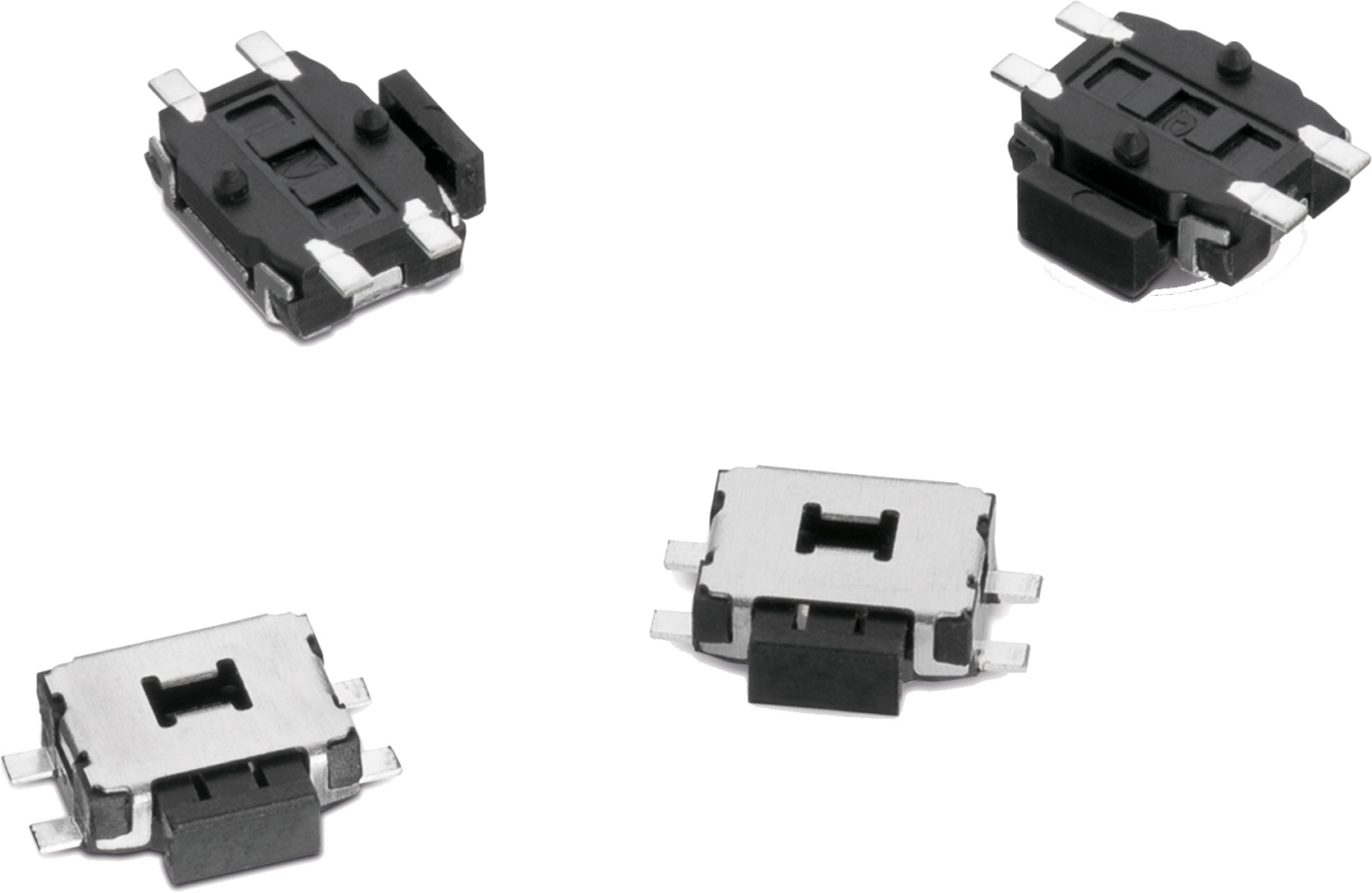 WS-TASU SMT Tact Switch with Boss Design 4.7x3.5 mm side push Picture