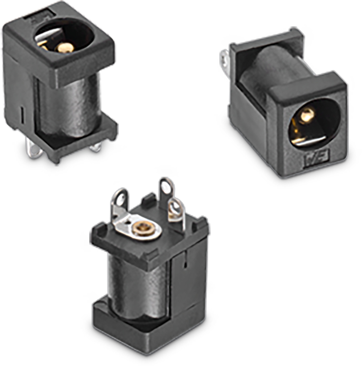 WR-DC DC Power Jack Vertical THT Ø 6.4 Picture