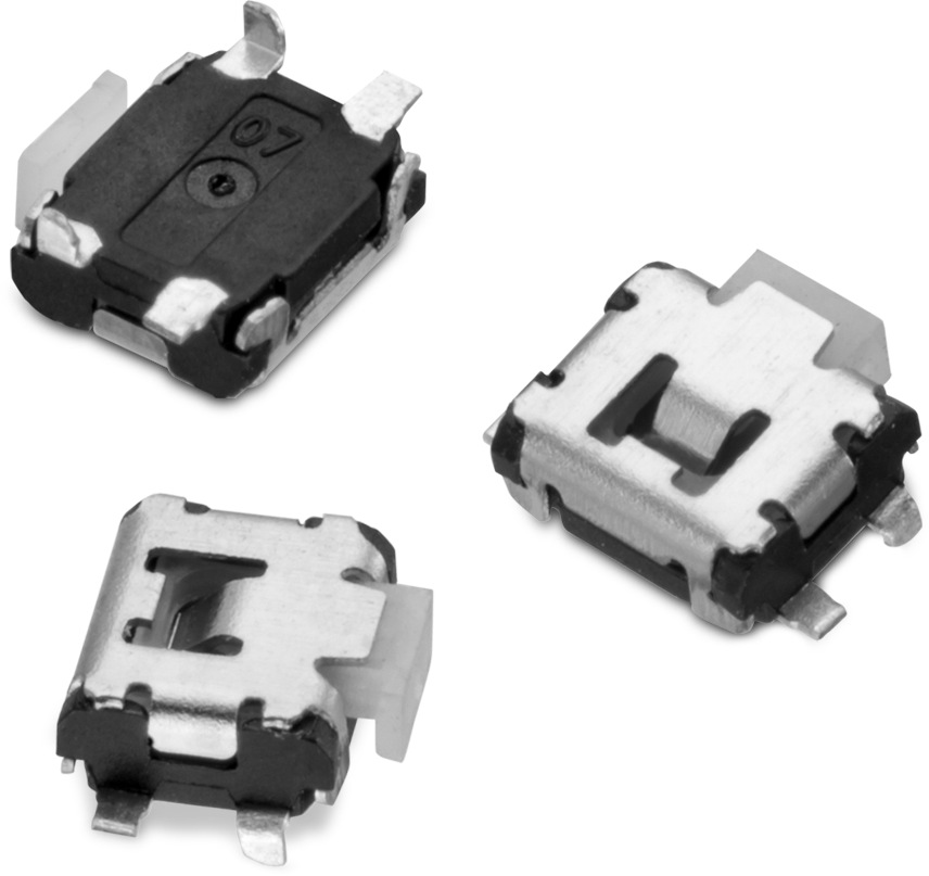 WS-TASU SMT Tact Switch 3.5x2.9 mm side push Picture
