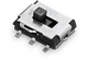 WS-SLSV SMD Mini Slide Switch, Same Side Connection 7.65 x 5.5 mm - WS-SLSV SMD Mini Slide Switch, Same Side Connection 7.65 x 5.5 mm