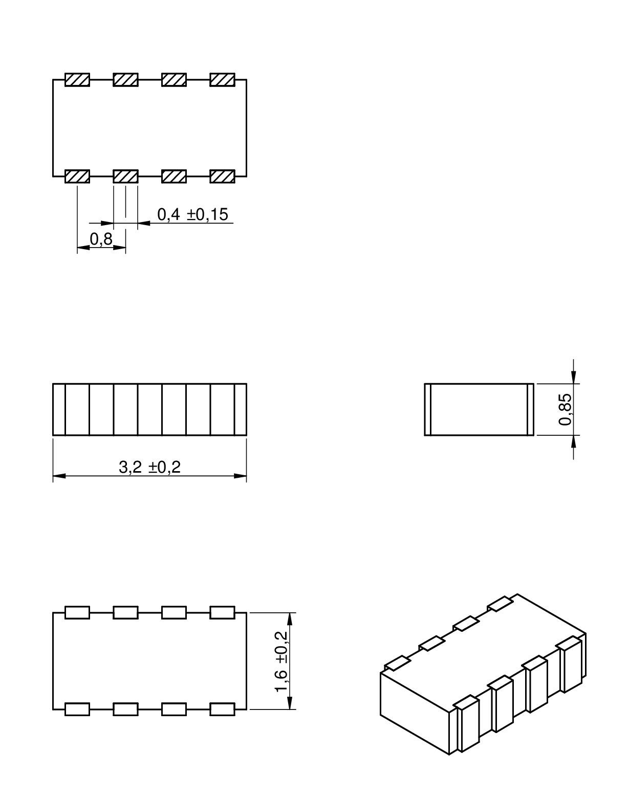WE-VEA ESD Suppressor-Array | Passive Components | Würth Elektronik