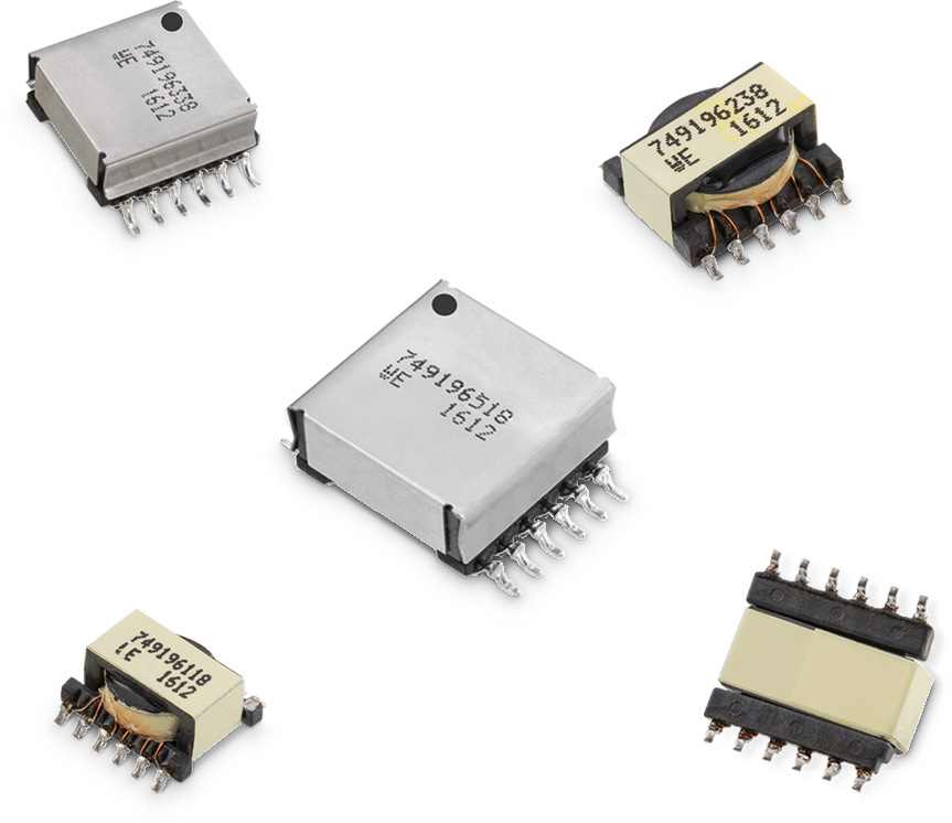 WE-FLEX HV Flexible Transformer for DC/DC Converter Picture