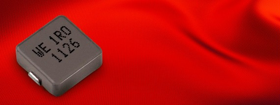 Low Profile High Current Molded Inductor for SMPS   Würth